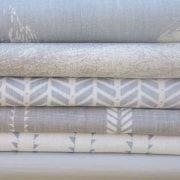 organic curtain fabric
