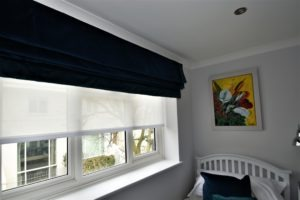 Bespoke made to measure blackout blinds