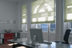 contemporary electric blinds