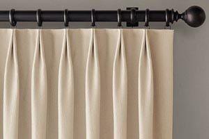 European Pleat Curtains