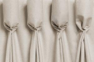 Goblet Pleat Curtain Heading