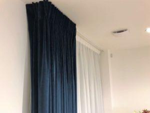 Pinch Pleat Velvet Curtain