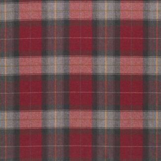 Red Check Curtains