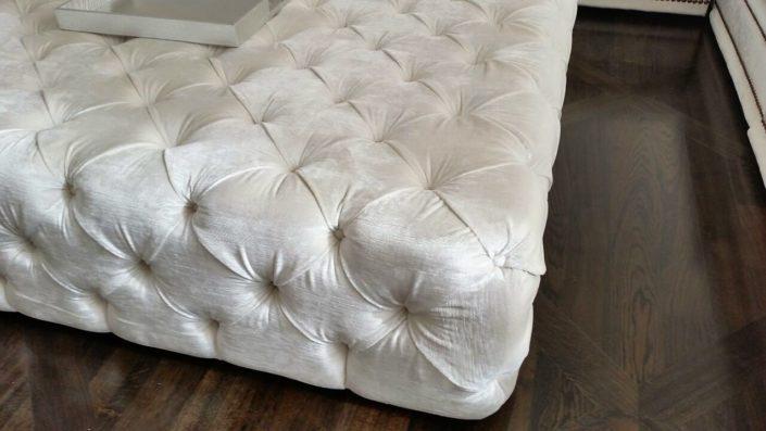 Upholstery Ottoman