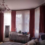 Bedroom Bay Window Curtains in North London