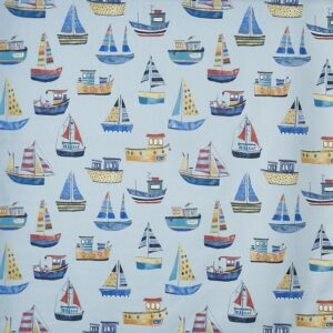 Children curtain ideas boat fabric