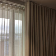 Wave Voiles And Wave Curtains For a modern flat in north London
