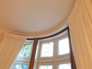 Curved Bay Window Curtains