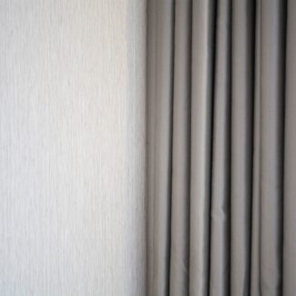 Close up of the sleek, modern fabric for the made to measure curtains