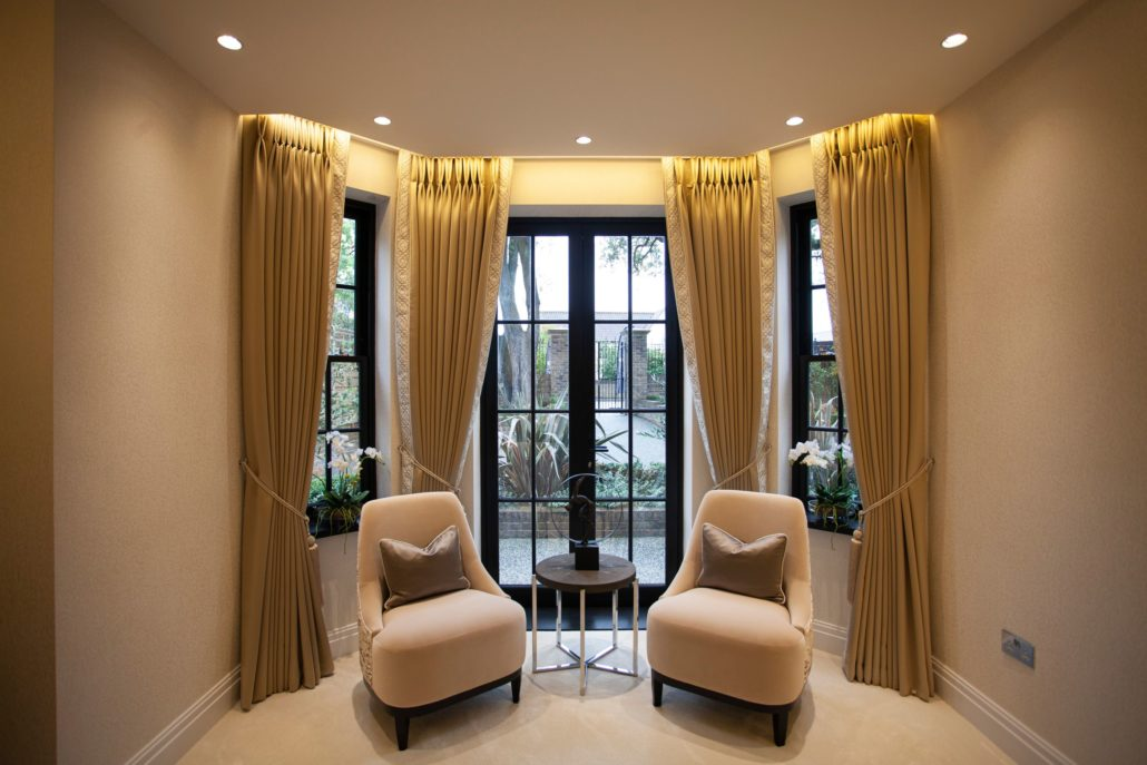 Bespoke upholstery to go alongside our made to measure curtains in london